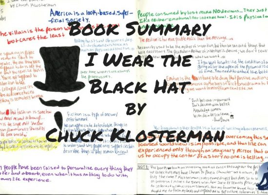 forces of habit forces of habit book summary of I wear the black hat by Chuck Klosterman