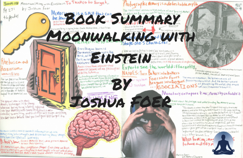 Moonwalking with Einstein: The Art and Science of Remembering Everything by Joshua Foer forces of habit
