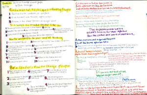 How to win friends and influence people forces of habit journal summary
