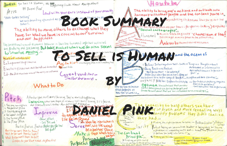 forces of habit book summary of To Sell Is Human: The Surprising Truth About Moving Others by Daniel pink