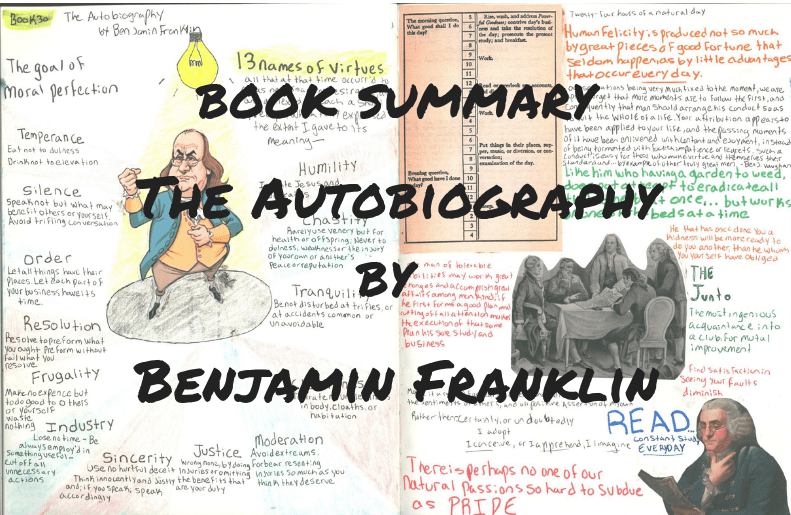 forces of habit Book Summary: The Autobiography of Benjamin Franklin