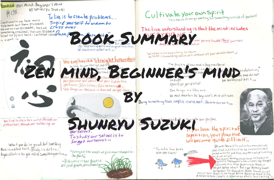 forces of habit book summary on Zen Mind, Beginner's Mind by Shunryu Suzuki