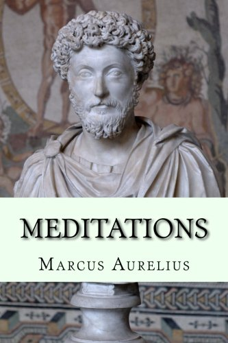 book cover for Meditations by Marcus Aurelius
