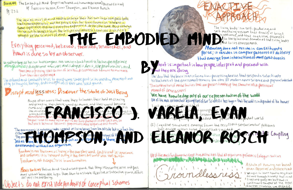 the embodied mind book summary